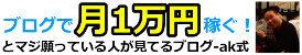 ブログ月1万円稼ぐ!とマジ願ってる人が見てるブログ-ak式