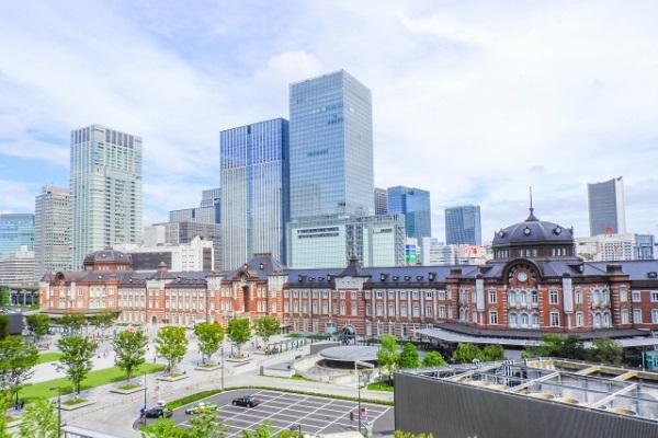 東京駅の丸の内北口の画像